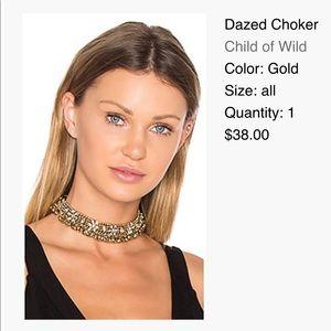 Dazed Choker in Gold Child of Wild